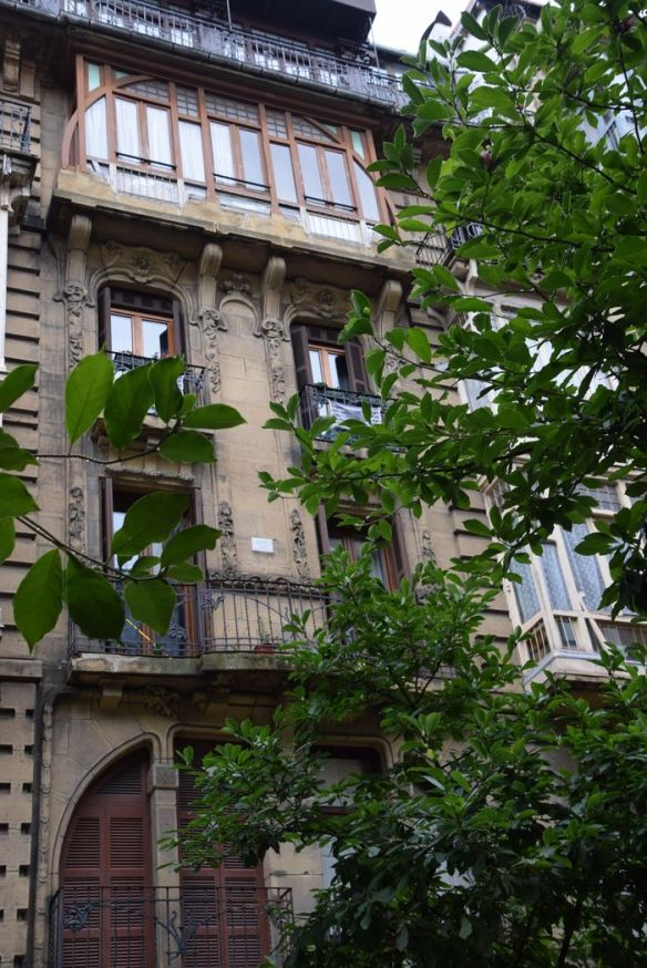 quartier San Martin Saint-Sénastien Donostia