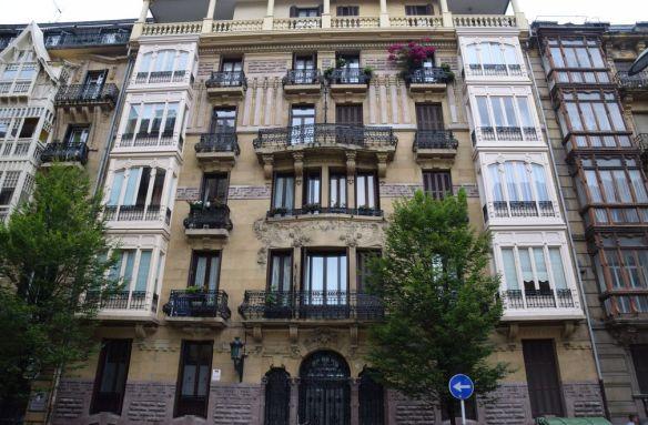 immeuble Luis Elizalde calle prim Saint-Sébastien Donostia