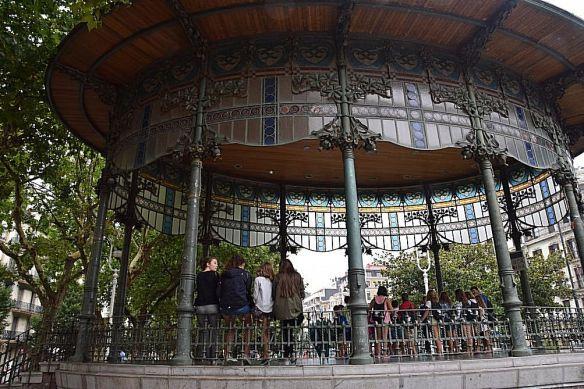 kiosque à musique ricardo Magdalena Saint-Sébastien Donostia