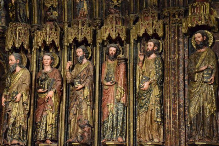 détail Santa Maria de los Reyes La Guardia Rioja
