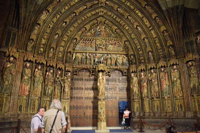portail Santa Maria de los Reyes La Guardia Rioja