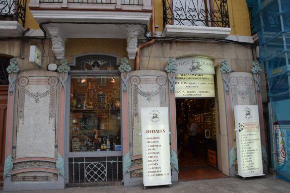 façade Art nouveau Logrono Rioja