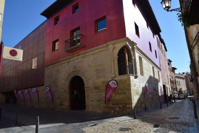 Centre du vin arrière Logrono Rioja