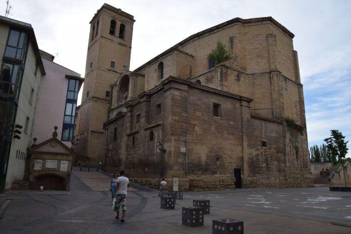 église Saint-Jacques Logrono Rioja