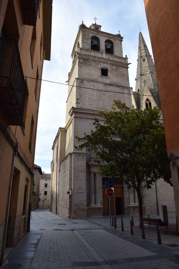 église impériale santa maria Logrono Rioja