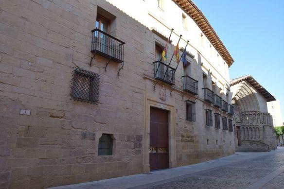 église san bartolome et palais marques de monaterio Logrono Rioja