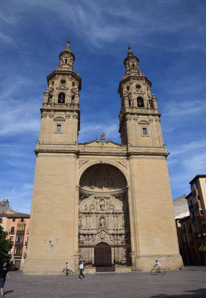 co-cathédrale de la Redonda Logrono Rioja