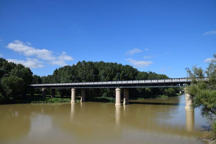 Ebre Logrono Rioja pont de fer