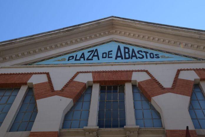 découpes géométriques marché de Abastos logrono Rioja