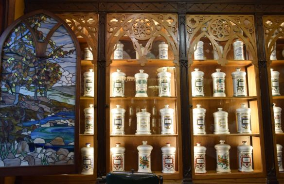 vitraux pharmacie Logrono Rioja