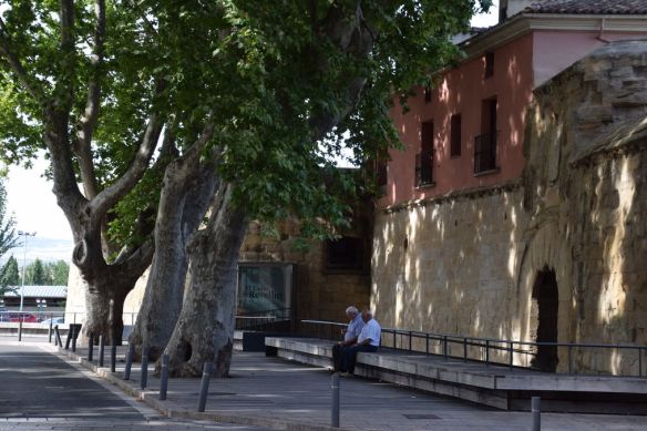 anciens remparts Logrono Rioja