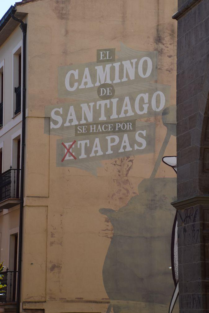 tapas pèlerinage Logrono Rioja