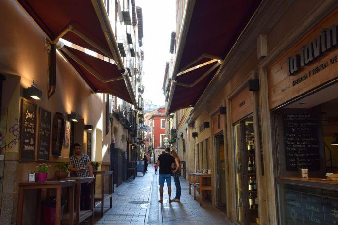 calle laurel Logrono Rioja