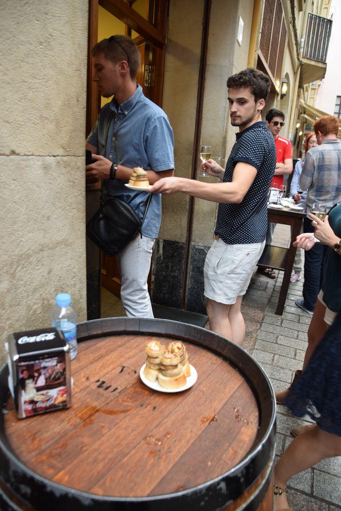 Soriano tapas champignons Logrono Rioja
