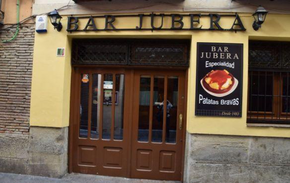 patats bravas jubera Logrono Rioja