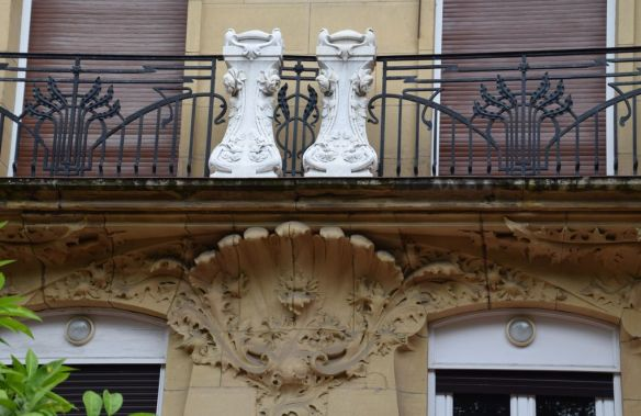 balcon calle prim Saint-Sébastien Donostia