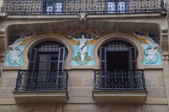 céramique daniel Zuloaga calle Prim Saint-Sébastien Donostia