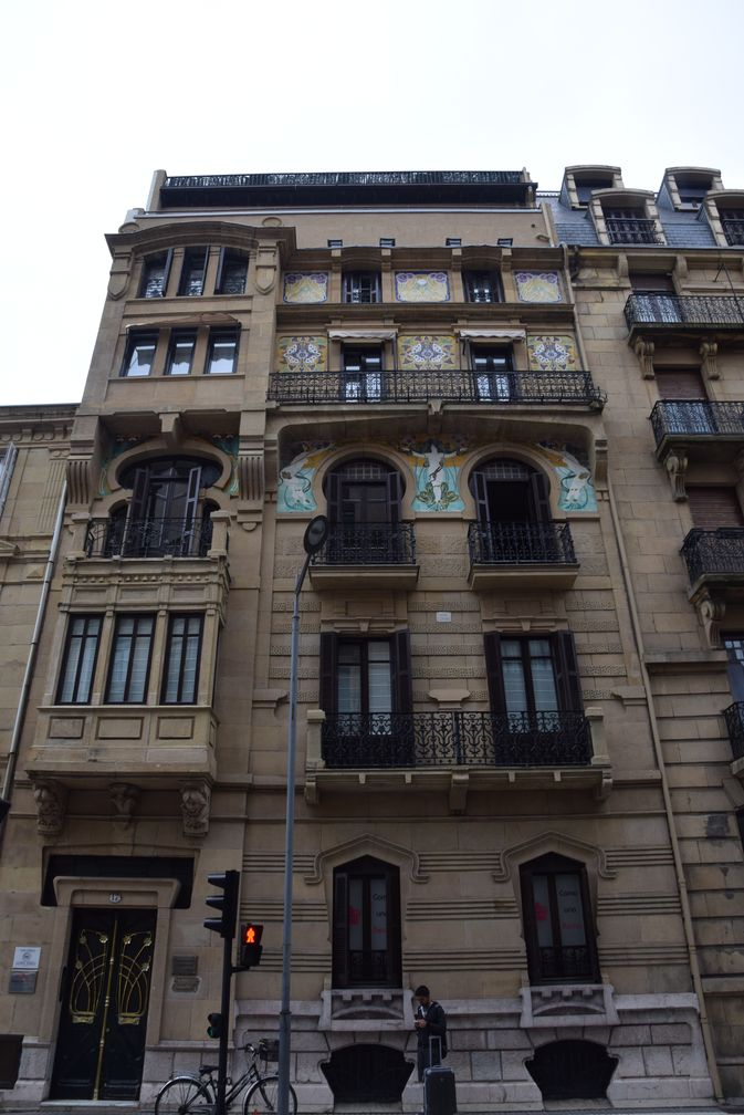 Ramon Cortazar calle prim Saint-Sébastien, Donostia