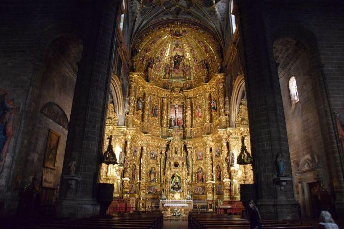 retable église assomption navarrete la Rioja