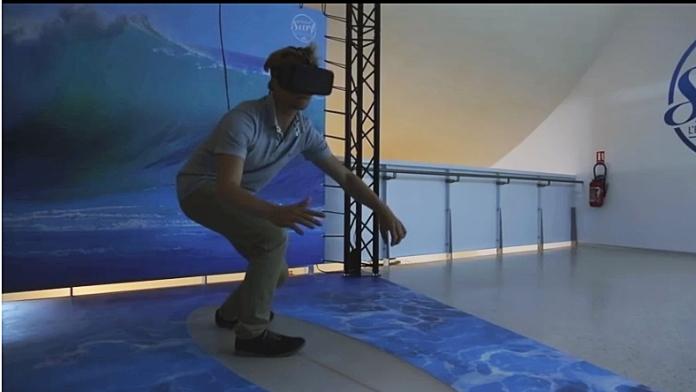 Virtual surf cité de l'océan Biarritz