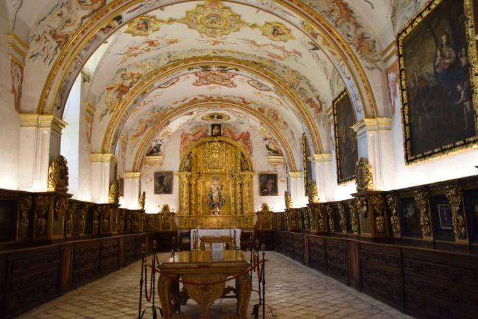 sacristie Yuso San Millan de la Cogolla La Rioja