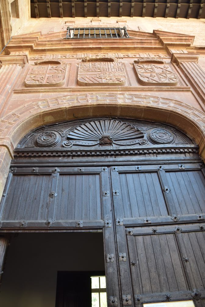 porte monastère Santa Maria la Real La Rioja