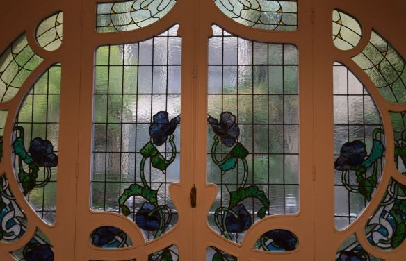 vitrail Maumejean Biarritz calle Garibay Saint-Sébastien Donostia