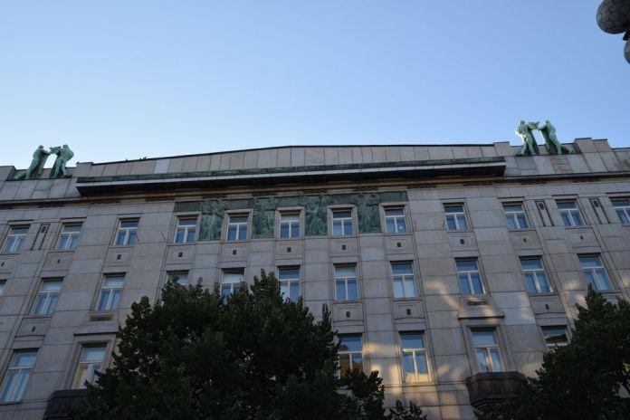 venceslas na prikope sécession Prague