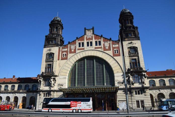 gare de prague Art nouveau