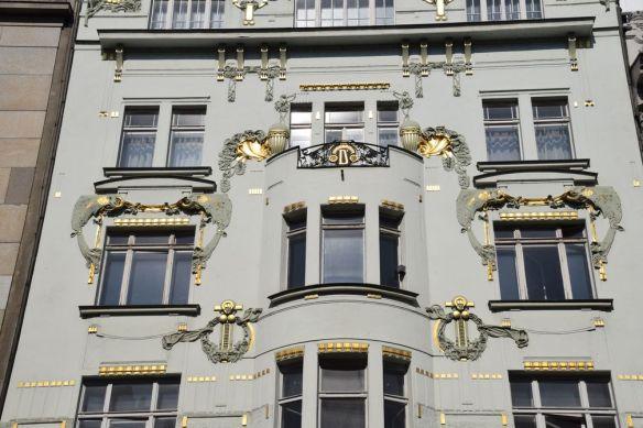 maison dorfler Art nouveau Prague