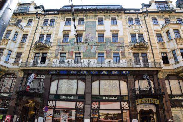 Art nouveau Prague Novak