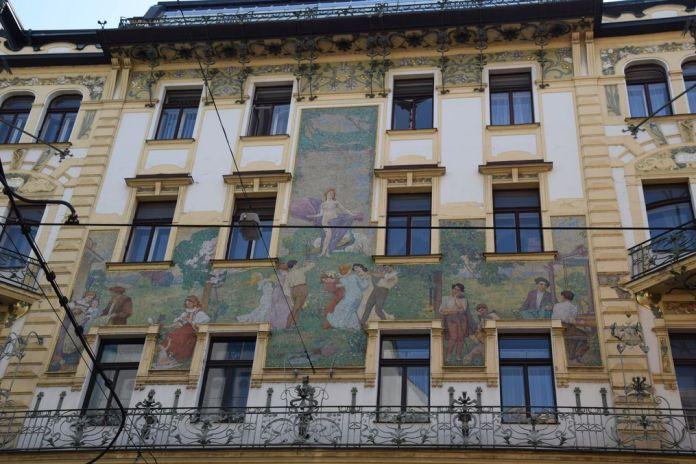 scène champêtre Prague Novak