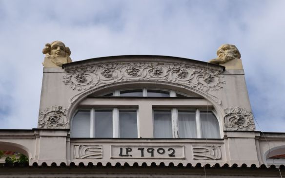 art nouveau Parizska Prague