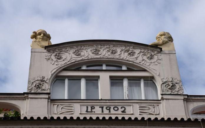 art nouveau Parizska Prague