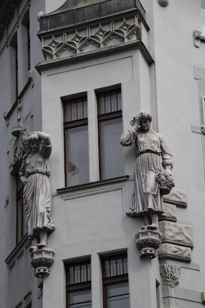 art nouveau Parzska Prague