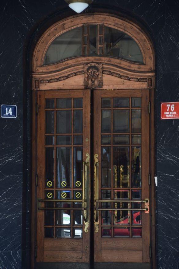 porte Art nouveau Prague Osvald Polivska