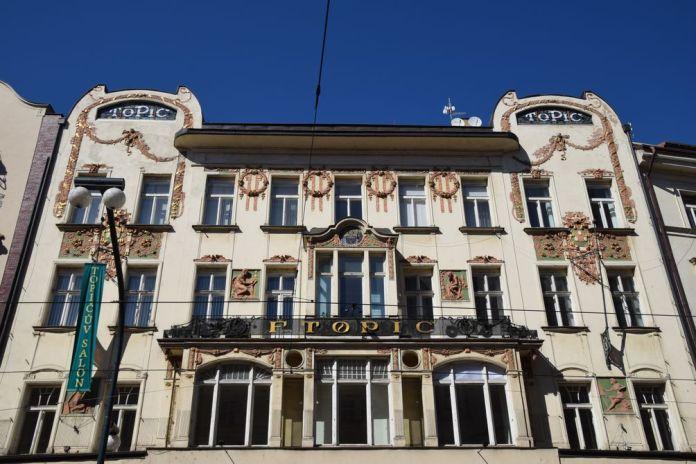 Topic Art nouveau Prague