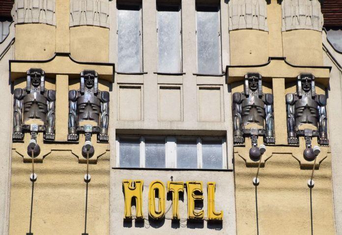 hôtel place Venceslas Prague Secession