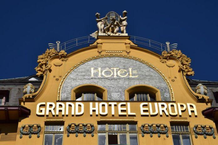 Grand Hôtel Europa Venceslas Prague Art nouveau