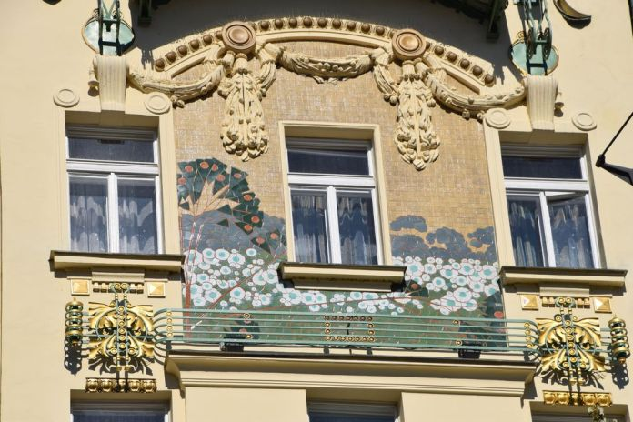 hôtel Méran Prague Art nouveau