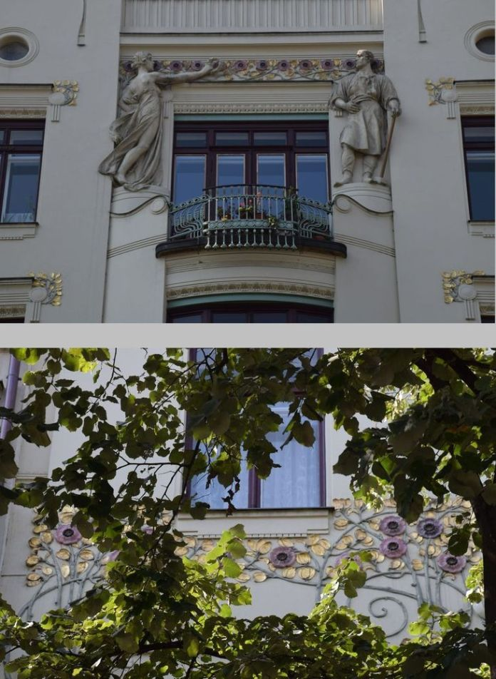 Art nouveau Kotera Venceslas Prague