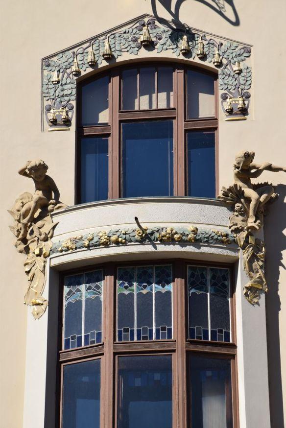 décors Art nouveau assurances Praha Prague