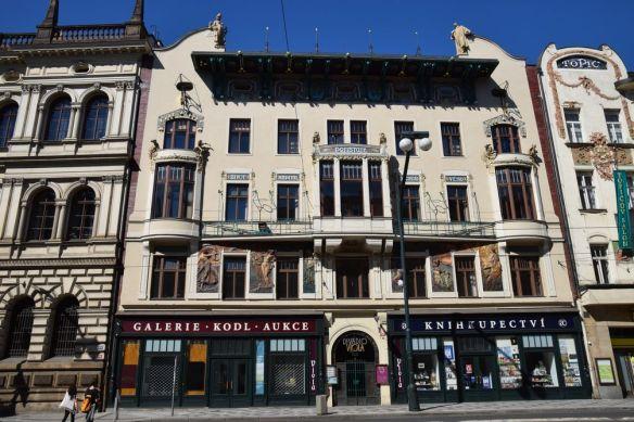 Polivka Prague assurances Praha Art Nouveau