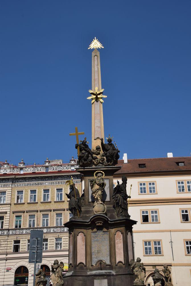 Colonne de la Peste Prague