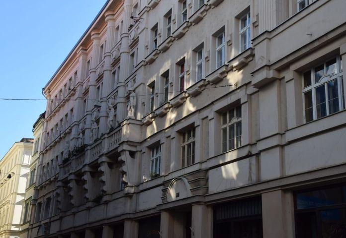 construction cubisante Prague