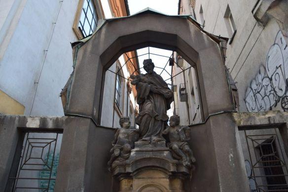 saint jean Népomucène cubiste Prague
