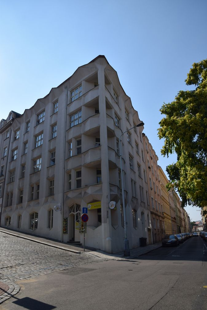 immeuble appartements Prague