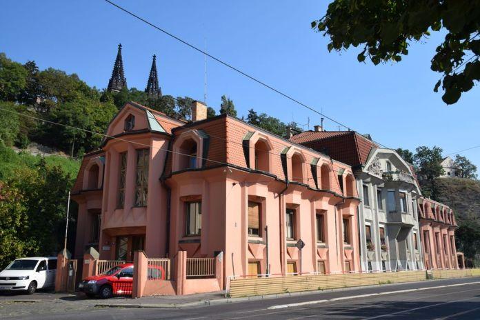 maisons cubistes prague