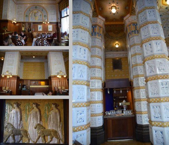 céramiques Hotel Art déco impérial Prague