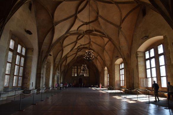 salle vladislav château Prague